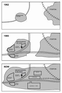 ielts map comparison 3 maps